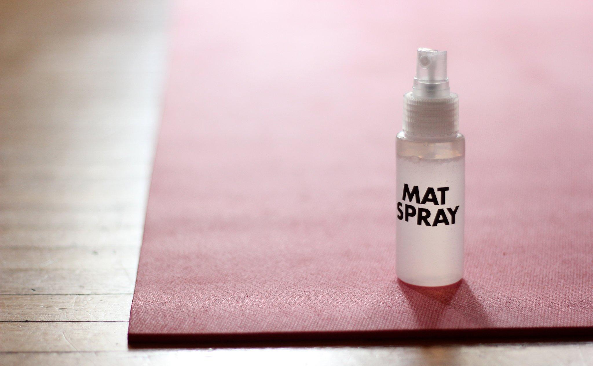 Yogamatspray