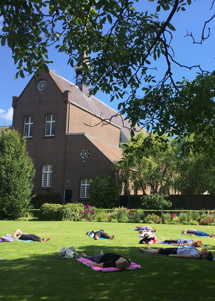 yoga outdoor in breda