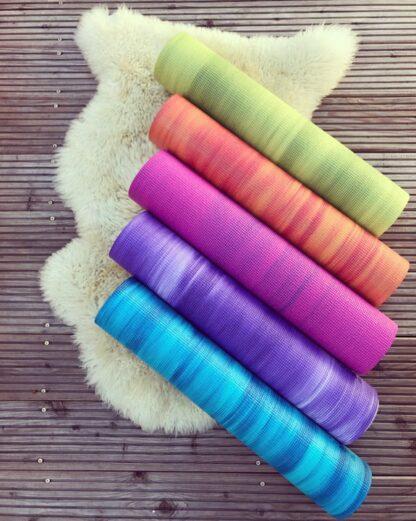 yogamat kleuren